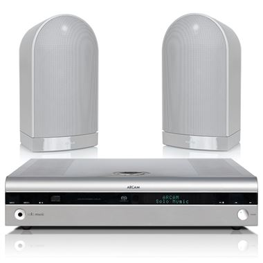 Arcam Solo Music CD / Bluetooth HiFi System with Muso Speakers