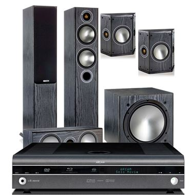 Arcam Solo Movie 5.1 AV Cinema System with Monitor Audio Bronze 5 AV Speakers
