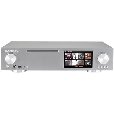 NovaFidelity X30 All-in-One HD Digital Music Centre and Network Streamer