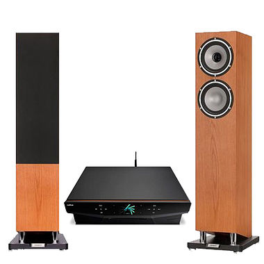Cyrus Lyric System with Tannoy XT6F Speakers