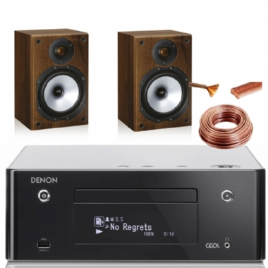 Denon RCD-N9 System with Monitor Audio MR1