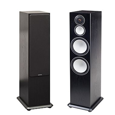 Monitor Audio Silver 10 Speakers (New pair) in Black Oak
