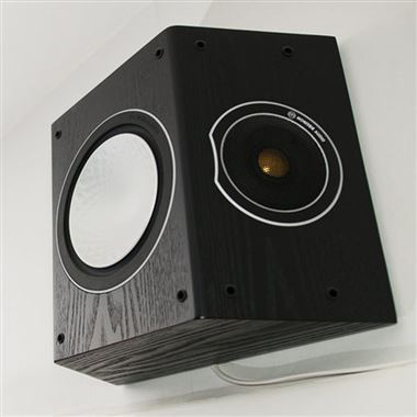 Ex Display Monitor Audio Silver FX Surround Speakers (pair) in Black Oak