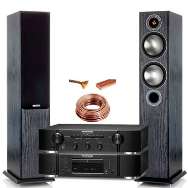 Marantz CD6006 and PM6006 System with Monitor Audio Bronze 5 Speakers