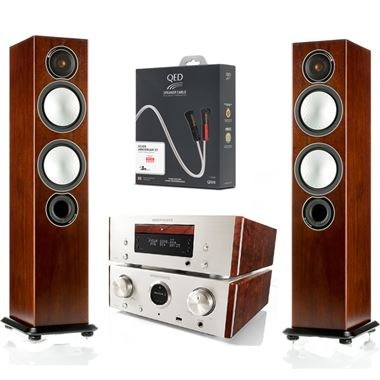 Marantz HD-CD System with Monitor Audio Silver 6 speakers