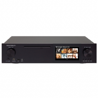 NovaFidelity X40 Music Server, CD Ripper & Network Streamer