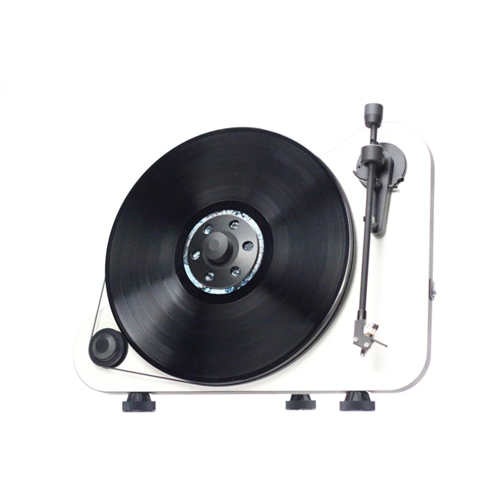 Project VTE Vertical Turntable White