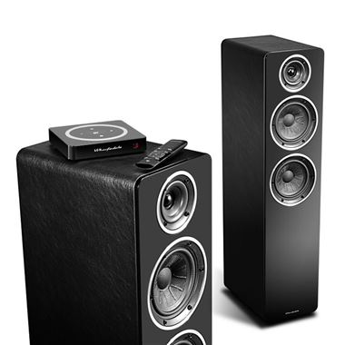 Wharfedale Diamond A2 Active Floor Standing Speakers inc H1 Hub