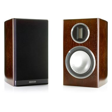 Ex Display Monitor Audio Gold 100 speakers in Dark Walnut