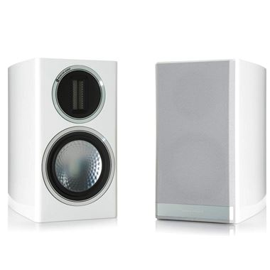Ex Display Monitor Audio Gold 50 speakers in Gloss White