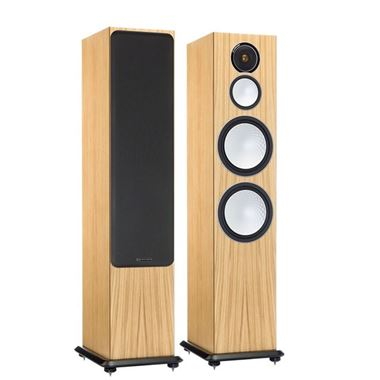 Ex Display Monitor Audio Silver 10 Speakers in Oak