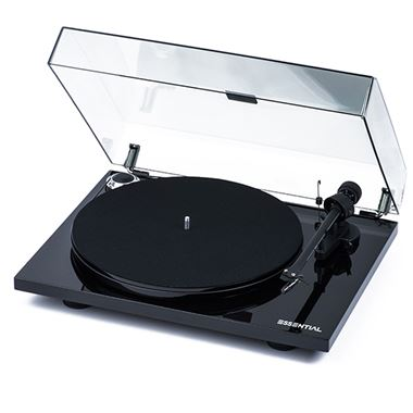 Ex Display Project Essential III Turntable inc. Lid and Ortofon Cartridge in White
