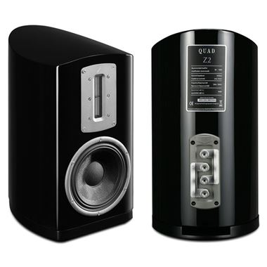 Ex Display Quad Z-2 2 Way Standmount Speakers in Piano Black