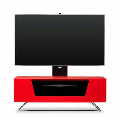 Alphason Alpha Chromium 2 Cantilever TV / AV Cabinet