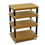 Atacama Evoque Eco 60-40 Special Edition 4 Tier Hi-FI Support in Medium Bamboo