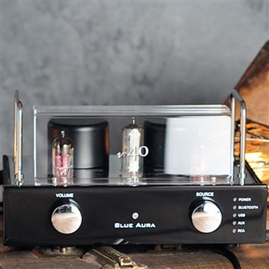 Blue Aura V40 Blackline Valve Amplifier with Bluetooth & USB