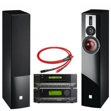 Cyrus 82 DAC with CDi and Dali Rubicon 5 Speakers