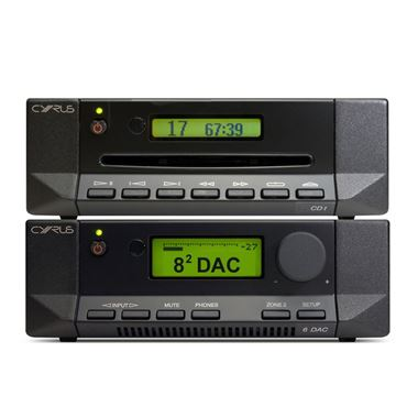 Cyrus 82 DAC QXR Digital Amplifier with CD-t CD Player
