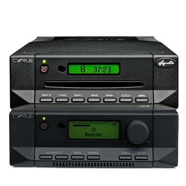 Cyrus 82 DAC QXR Digital Amplifier with CDXT Signature CD Transport