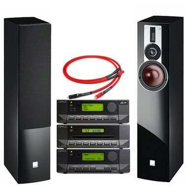 Cyrus 82 DAC with CDi and Stream X Signature and Dali Rubicon 5 Speakers