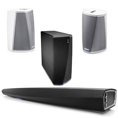 HEOS AV Pack inc Sound BAR HEOS 1 and SUB