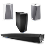 Denon HEOS AV Pack inc. Sound BAR, HEOS 1 Speakers and Subwoofer