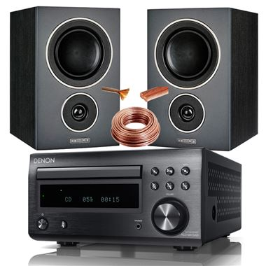 Denon DM41 DAB ( RCD-M41DAB ) system with Mission LX-2 Speakers