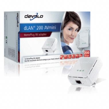 Devolo dLAN 200 AV Series Mini Add On WiFi HomePlug