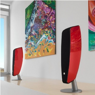 Ex Display Dali Fazon F5 Floorstanding Speakers in Red