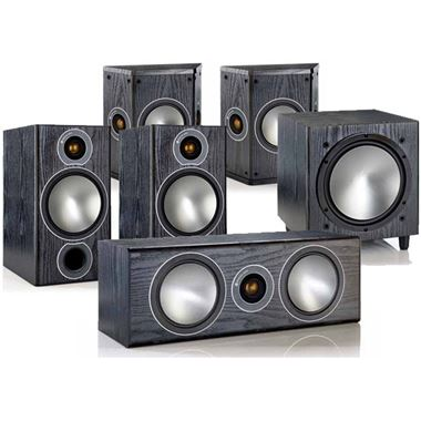 Monitor Audio Bronze 2 5.1 Home Cinema AV Speaker Package