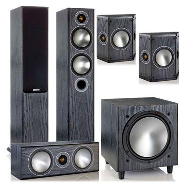 Monitor Audio Bronze 5 5.1 Home Cinema AV Speaker Package