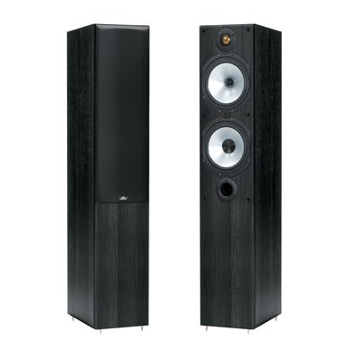 Monitor Audio Reference MR4 Speakers in Walnut