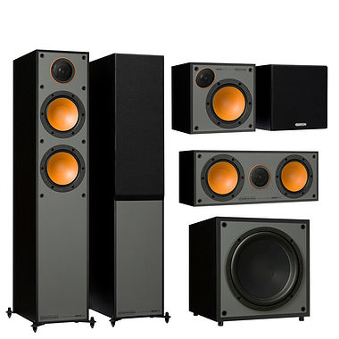 Monitor Audio - Monitor 200 AV 5.1ch Home Cinema Speaker Package