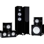 Monitor Audio Silver 200 AV12 Cinema Speaker Pack