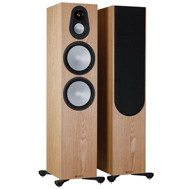 Monitor Audio Silver 500 Floorstanding Speakers inc. FREE Cables