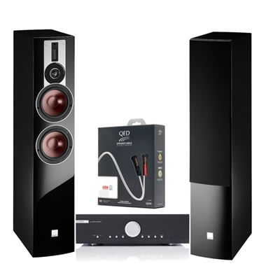 Musical Fidelity M6si Amp with Dali Rubicon 6 Speakers and Cables