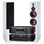 Marantz Premium PM14SE Amp with NA11 Network Streamer and Dali Rubicon 6 speakers