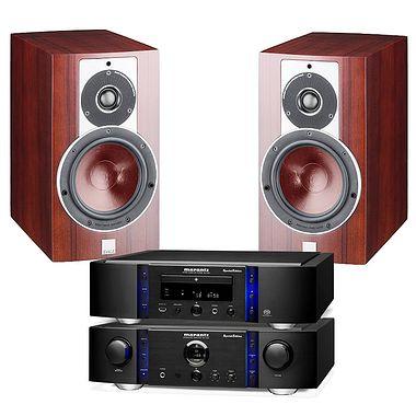 Marantz Premium PM14 SE Amplifier with SA14SE CD Player and Dali Rubicon 2 speakers