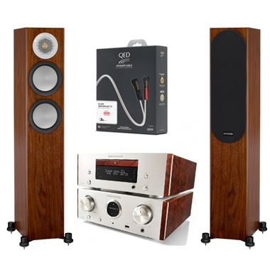 Marantz HD-CD System with Monitor Audio Silver 200 speakers