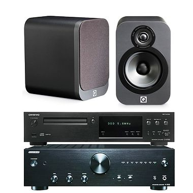Onkyo A-9010 with C-N7050 Network CD and Q3020 Speakers