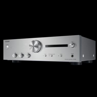 Onkyo A-9130 Integrated Stereo Amplifier with DAC in Silver