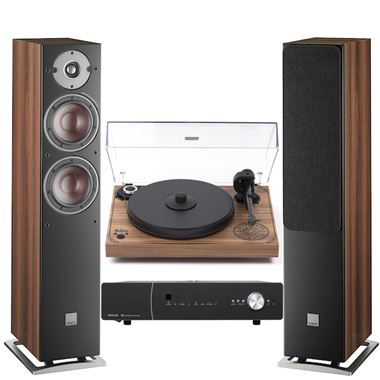 Roksan K3 Amp with Pro-Ject 2 Xperience SB Limited Edition Turntable and Dali Oberon 5 Speakers