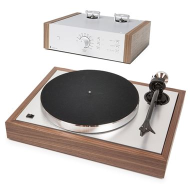 Ex Display Pro-Ject Classic Turntable with Cartridge and Tube Box DS2 Phono PreAmp