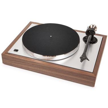 Pro-Ject The Classic Turntable including Ortofon 2M Silver and Lid in Walnut