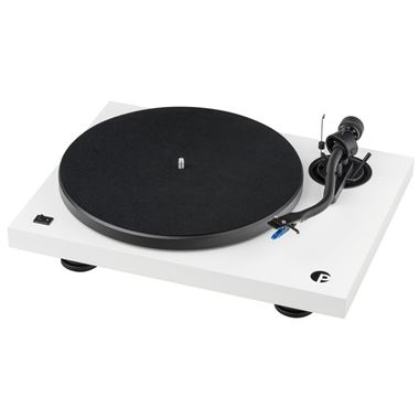 Pro-Ject Debut III S Audiophile Turntable with Lid and Cartridge
