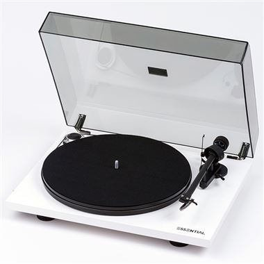 Pro-Ject Essential III Phono Turntable inc. Lid and Cartridge