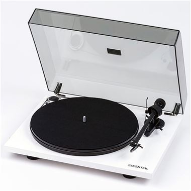 Pro-Ject Essential III RecordMaster USB Turntable with 33/45, Lid and Cartridge