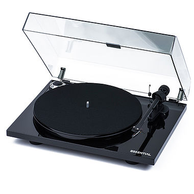 Project Essential III Turntable inc. Lid and Ortofon Cartridge