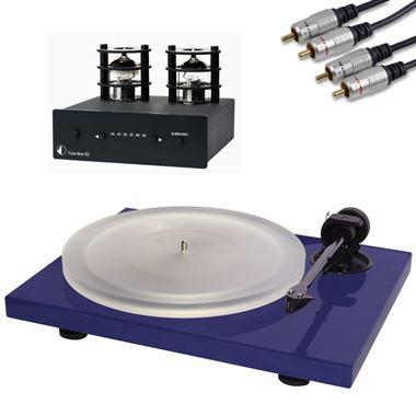 Project Xpression Carbon Turntable inc. Ortofon Cartridge, Tube Box S2 Pre Amp & Cables