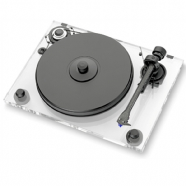 Pro-Ject 2 Xperience Acrylic Turntable inc. Lid and Ortofon 2M Silver Cartridge